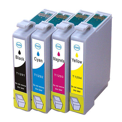 Epson T1292 Cyan Kompatibel Blækpatron Epson Stylus NX 305 | InkNu