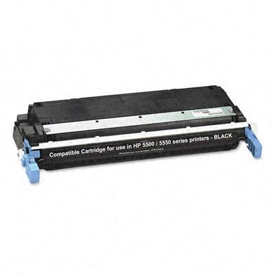 HP C9730A Black Kompatibel Tonerpatron HP Color LaserJet 5500   InkNu