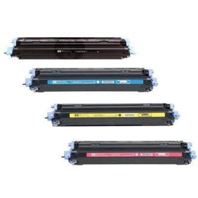 HP 124A Black Kompatibel Tonerpatron HP Color LaserJet 1600 | InkNu