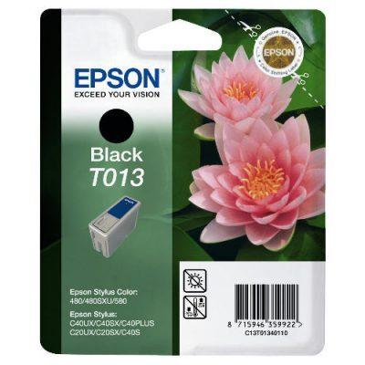 Epson T013 Black Original Blækpatron (UDGÅET) Epson Stylus C 20 | InkNu