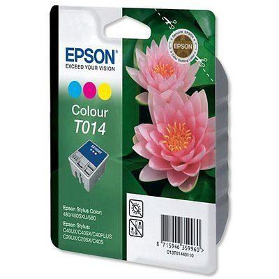 Epson T014 Colour Original Blækpatron (UDGÅET) Epson Stylus C 20 | InkNu