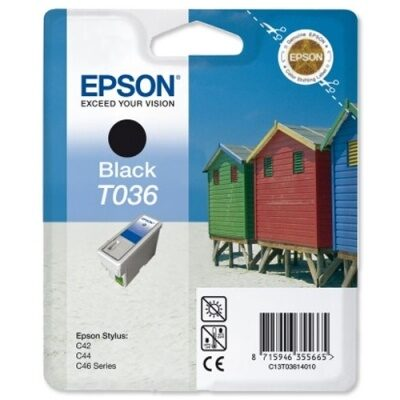 Epson T036 Black Original Blækpatron (UDGÅET) Epson Stylus C 42 | InkNu