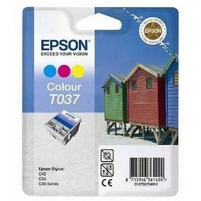 Epson T037 Tri-Colour Original Blækpatron (UDGÅET) Epson Stylus C 42 | InkNu