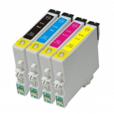 Epson T0445 Multipakke 4stk. Kompatibel Blækpatron Epson Stylus C 64 | InkNu