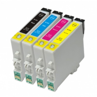 Epson T0443 Magenta Kompatibel Blækpatron Epson Stylus C 64 | InkNu