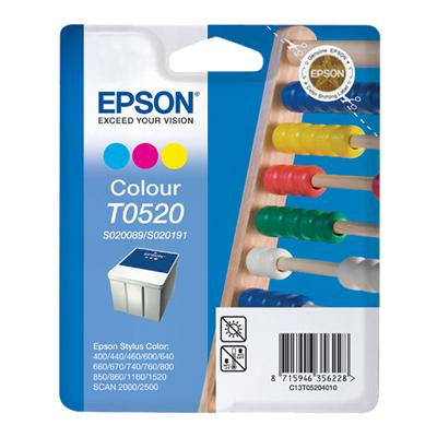 InkNu Epson T0520 Colour Original Blækpatron