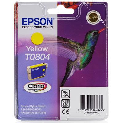 Epson T0804 Yellow Original Blækpatron Epson Stylus Photo P50 | InkNu