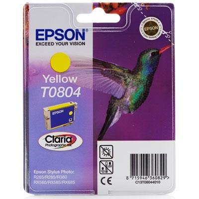 InkNu Epson T0804 Yellow Original Blækpatron