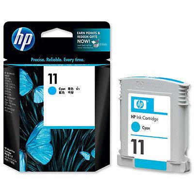 HP 11 Cyan Original Blækpatron HP DesignJet 10 | InkNu