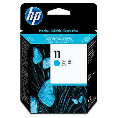 HP 11 Cyan Printhovede Original Produkt HP DesignJet 10 | InkNu