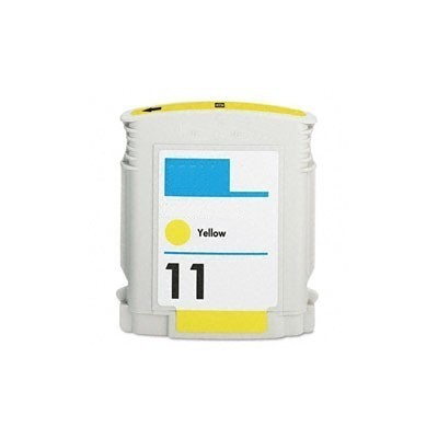 HP 11 Yellow Kompatibel Blækpatron HP DesignJet 10 | InkNu