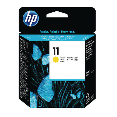 InkNu HP 11 Yellow Printhovede Original Produkt