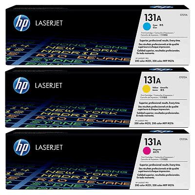 HP 131A C/M/Y Tri-Pack HP LaserJet Pro 200 M 251 | InkNu