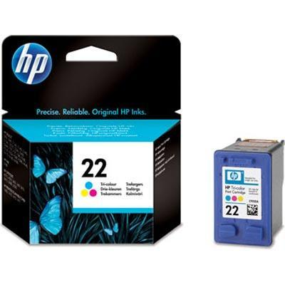 InkNu HP 22 Tri-Colour Original Blækpatron