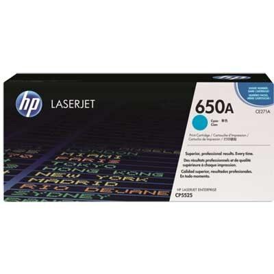 HP CE271A Cyan Original Tonerpatron HP Color LaserJet CP 5525 | InkNu