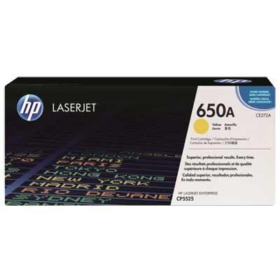 HP CE272A Yellow Original Tonerpatron HP Color LaserJet CP 5525 | InkNu