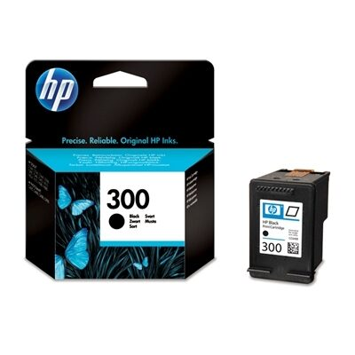 HP 300 Black Original Blækpatron HP DeskJet D1600 Series | InkNu