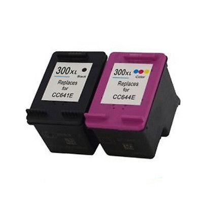 HP 300XL Black Kompatibel Blækpatron HP DeskJet D1600 Series | InkNu