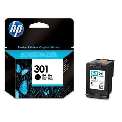HP 301 Black Original Blækpatron 190 Sider HP DeskJet 1000   InkNu