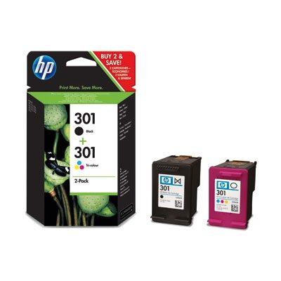 HP 301 Standard 2-Pack Original Multipack HP DeskJet 1000 | InkNu