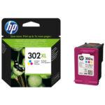 InkNu HP 302XL Tri-Colour Original Produkt