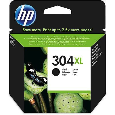 HP 304XL Black Original Blækpatron HP DeskJet 2620 | InkNu
