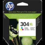 InkNu HP 304XL Tri-Colour Original Produkt