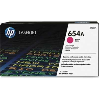 HP 654A Magenta Original Tonerpatron HP Color LaserJet Enterprise M 651 | InkNu