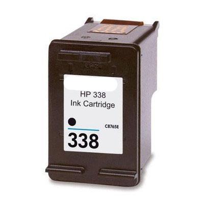 HP 338 Black Kompatibel Blækpatron HP DeskJet 460 | InkNu