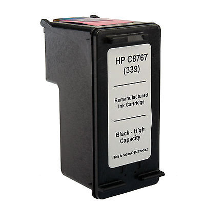 HP 339 Black Kompatibel Blækpatron HP DeskJet 5740 | InkNu