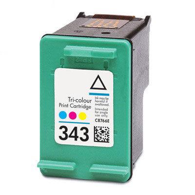HP 343 Tri-Colour Kompatibel Blækpatron HP DeskJet 460 | InkNu