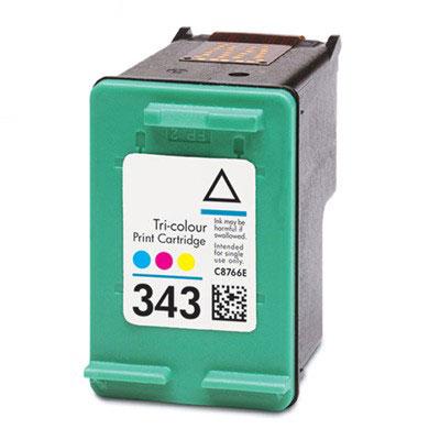 InkNu HP 343 Tri-Colour Kompatibel Blækpatron