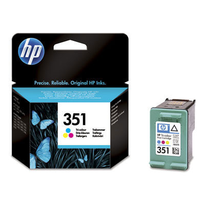 HP 351 Tri-Colour Original Blækpatron HP DeskJet D4260 | InkNu