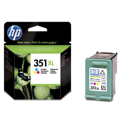 HP 351XL Tri-Colour Original Blækpatron HP DeskJet D4260 | InkNu