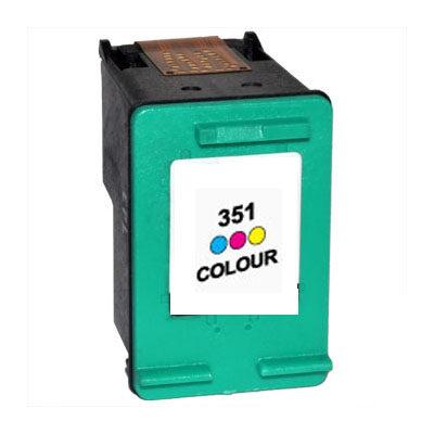 HP 351XL Tri-Colour Kompatibel Blækpatron HP DeskJet D4260 | InkNu