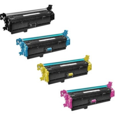 HP 508X Cyan Kompatibel Toner HP Color LaserJet Enterprise M 552 | InkNu