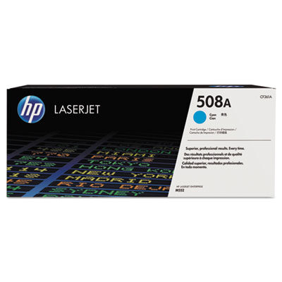 HP 508A Cyan Original Toner HP Color LaserJet Enterprise M 552 | InkNu