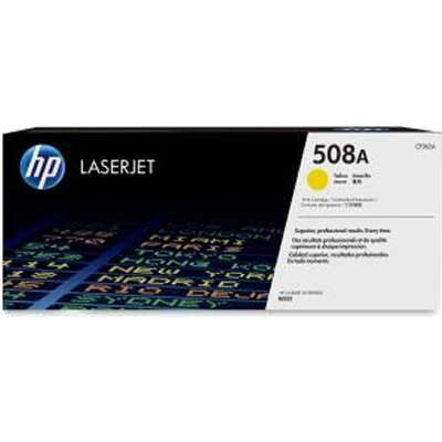HP 508A Yellow Original Toner HP Color LaserJet Enterprise M 552 | InkNu
