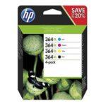 InkNu HP 364XL 4-Pack Original Valuepack