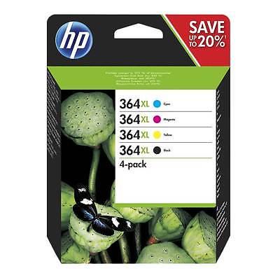 HP 364XL 4-Pack BK/C/M/Y Original Valuepack HP DeskJet 3070 | InkNu