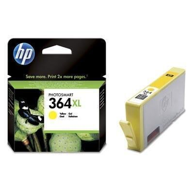 HP 364XL Yellow Original Blækpatron HP DeskJet 3070 | InkNu