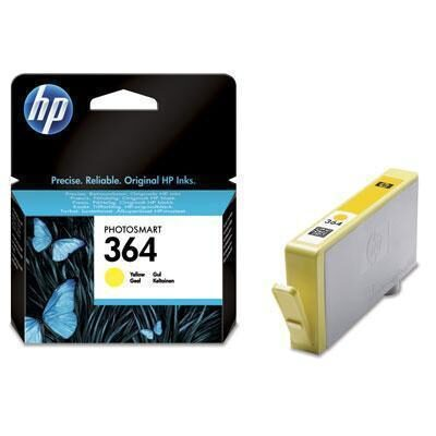 HP 364 Yellow Original Blækpatron HP DeskJet 3070 | InkNu