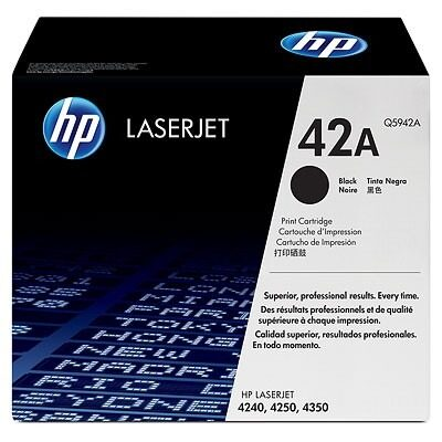 HP 42A Black Original Toner HP LaserJet 4240 | InkNu