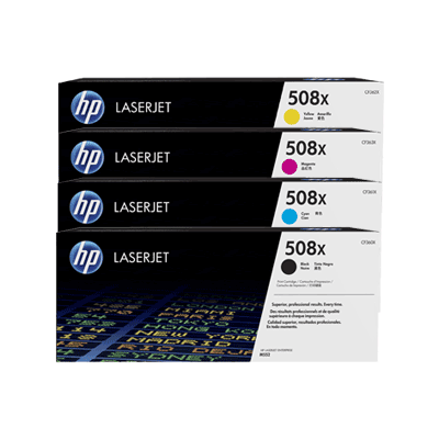 HP 508X Cyan Original Toner HP Color LaserJet Enterprise M 552 | InkNu