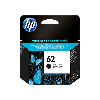HP 62 Black Original Blækpatron HP ENVY 5540 | InkNu