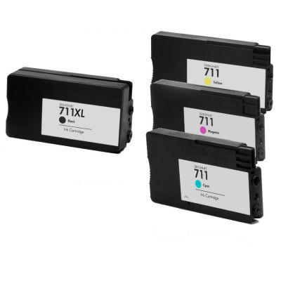HP 711 Magenta Kompatibel Blækpatron HP DesignJet T120 | InkNu