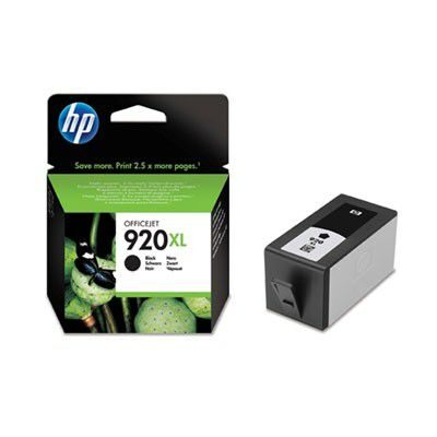 HP 920XL Black Original Blækpatron HP OfficeJet 6000 | InkNu