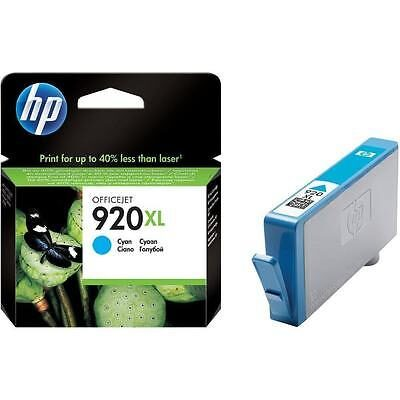 HP 920XL Cyan Original Blækpatron HP OfficeJet 6000 | InkNu