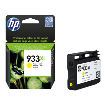 HP 933XL Yellow Original Blækpatron HP OfficeJet 6600 | InkNu