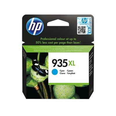 HP 935XL Cyan Original Blækpatron HP OfficeJet 6800 | InkNu